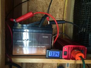 12v Solar Battery Hookup